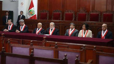 Tribunal Constitucional admite a trámite la demanda competencial contra la disolución del Congreso