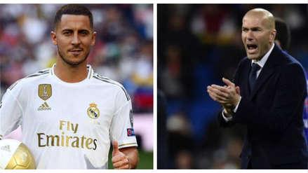 Eden Hazard sobre Zinedine Zidane: