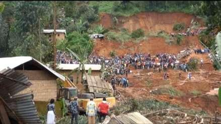 Camerún: Al menos 42 muertos deja un deslizamiento de tierra [VIDEO]