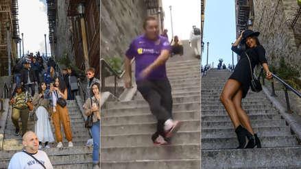 Las escaleras en las que bailó el 'Joker' atraen a turistas de todo el mundo: 10 fotos del fenómeno
