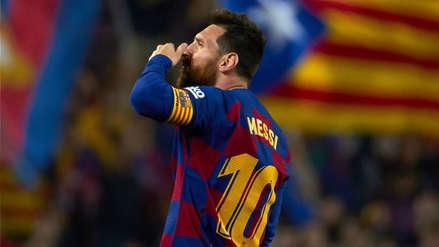 ¿Qué hiciste 'Lio'? La 'huacha' de Messi con Barcelona en el triunfo sobre Real Valladolid