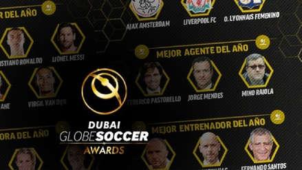 Lionel Messi y Cristiano Ronaldo: conoce a los candidatos a los premios Globe Soccer Awards