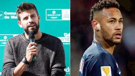 """Piqué sobre Neymar: """"Ofrecimos tocarnos el contrato para que pueda venir"""""""