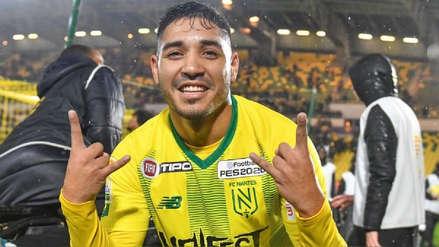 Percy Prado, el peruano de 23 años que debutó con Nantes en Francia y fue halagado por los hinchas