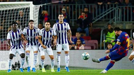 Lionel Messi: así lo favorece el spray en los tiros libres