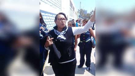 Video | Docente agrede a alumna durante toma de instituto superior pedagógico en Chiclayo