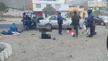 Cieneguilla: Choque entre mototaxi y auto dejó un muerto y cinco heridos