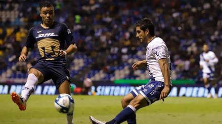 El Puebla de Juan Reynoso empató 1-1 con Pumas y sumó su séptimo partido seguido sin ganar