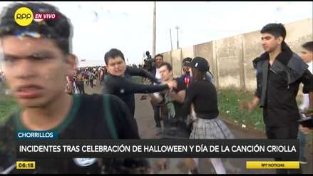 Chorrillos | Jóvenes ocasionaron disturbios al reclamar a organizadores de fiesta de Halloween 'La Purga'