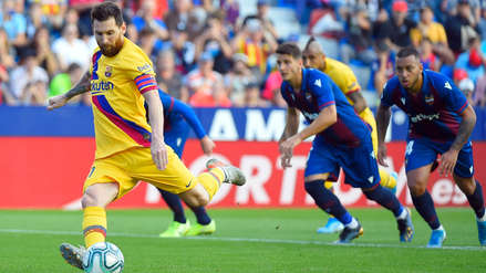 La increíble estadística que logró Lionel Messi tras anotar de penal ante Levante