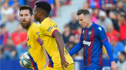 El VAR anuló un golazo de Lionel Messi en el Barcelona vs. Levante