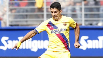 Luis Suárez se lesionó y es duda para el Barcelona vs. Slavia Praga