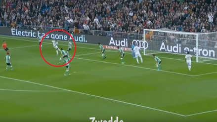 Eden Hazard anotó un golazo ante Betis, pero el VAR se lo anuló
