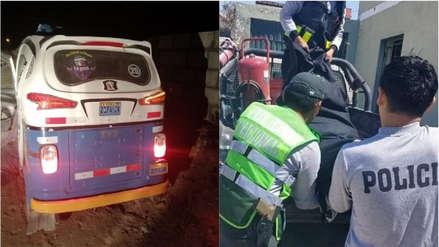 Arequipa: capturan a presunto feminicida de mujer hallada en un mototaxi