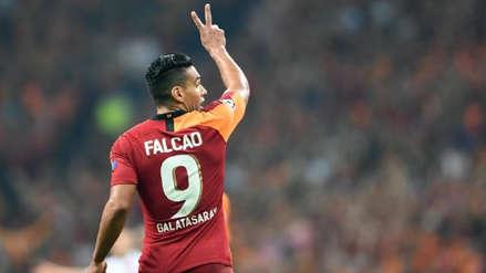 ¿Jugará ante Real Madrid? Galatasaray dio a conocer el informe médico de Radamel Falcao