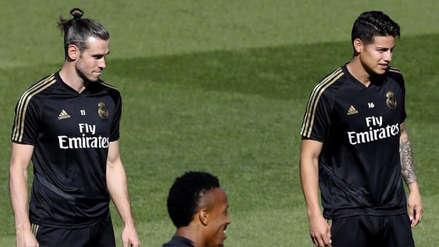 James Rodríguez y Gareth Bale recibieron malas noticias previo al partido de Real Madrid por la Champions
