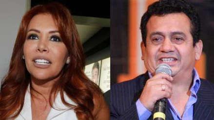 Magaly Medina le respondió a Tony Rosado por insultos que le dijo:
