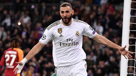 ¡Con asistencia de Rodrygo! Karim Benzema puso el cuarto gol de Real Madrid ante Galatasaray