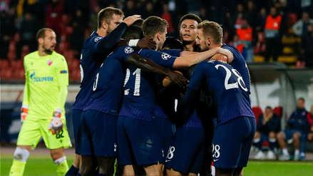 Con doblete de Son, Tottenham goleó 4-0 a Estrella Roja por el grupo B de la Champions League