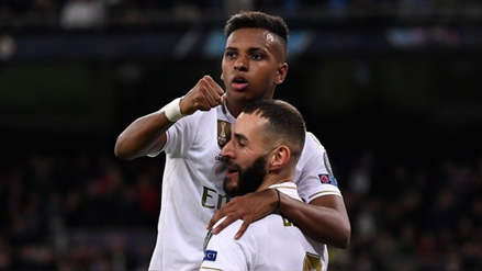 Con triplete de Rodrygo, Real Madrid goleó 6-0 a Galatasaray en la Champions League