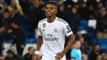Real Madrid goleó 6-0 al Galatasaray y ve más cerca la clasificación tras el triplete de Rodrygo