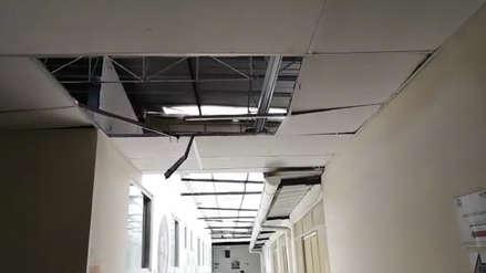 Chiclayo: administrador de hospital culpa a pelea de gatos por caída de techo - RPP