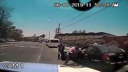 Asaltantes disparan a taxista para robarle su auto en medio de una persecución en La Molina [VIDEO]
