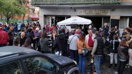 Queman por segunda vez una librería de Roma que era punto de encuentro de colectivos antifascistas