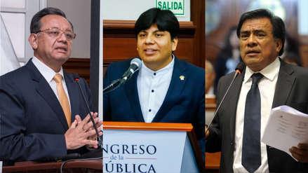 Fiscal de la Nación presentará denuncia contra Javier Velásquez, Marvin Palma y Edgar Alarcón