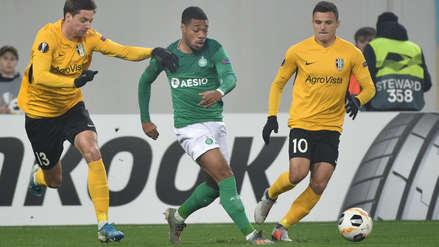 Sin Miguel Trauco, Saint Etienne empató 2-2 con Oleksandria por la fecha 4 de la Europa League