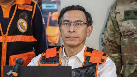 La aprobación a Martín Vizcarra cayó 13 puntos el último mes, según encuesta de Datum