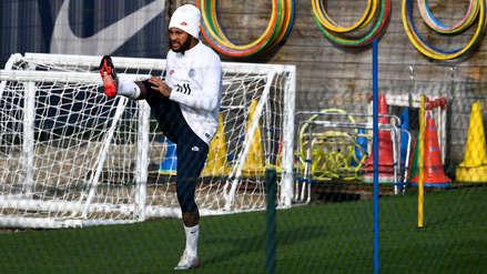 ¿Estará listo para el partido ante Real Madrid? Neymar se reincorporará a los entrenamientos del PSG