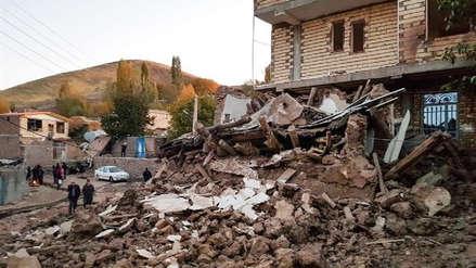Cinco muertos y 300 heridos en terremoto al noroeste de Irán