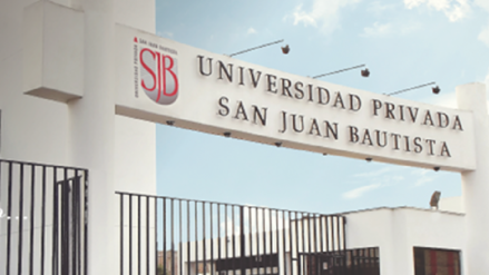 Sunedu otorga la licencia institucional a la Universidad Privada San Juan Bautista por seis años - RPP