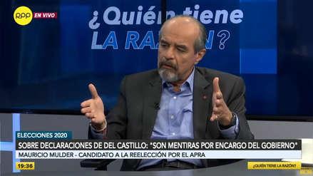Mulder sobre denuncia de Del Castillo: