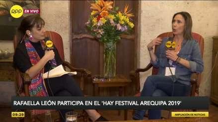 Hay Festival Arequipa 2019: Rafaella León confirma su deseo de escribir un segundo libro sobre Martín Vizcarra