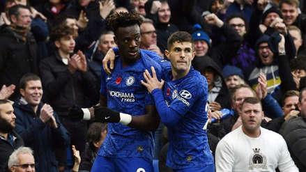 Con goles de Abraham y Pulisic, Chelsea venció 2-0 a Crystal Palace y se pone en el segundo lugar