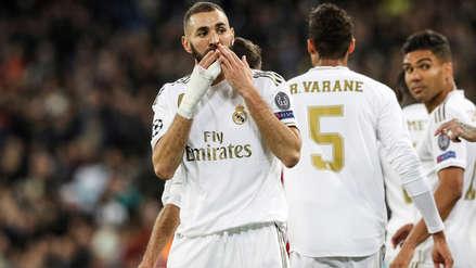 La increíble marca a la que llegó Karim Benzema durante la goleada del Real Madrid ante Eibar