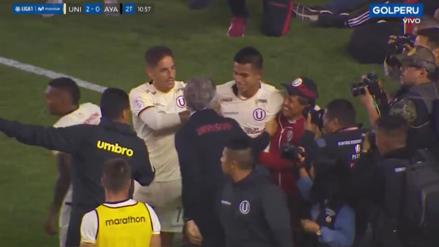 Su segundo gol en el año: Anthony Osorio amplió la ventaja de Universitario ante Ayacucho FC