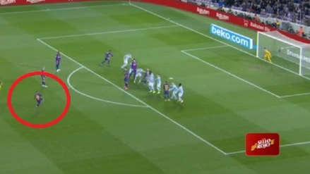 ¡Pura magia! Lionel Messi anotó un golazo de tiro libre en el Barcelona vs. Celta