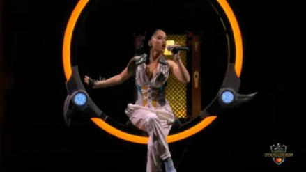 Así fue la presentación de Becky G en la final mundial del videojuego League of Legends