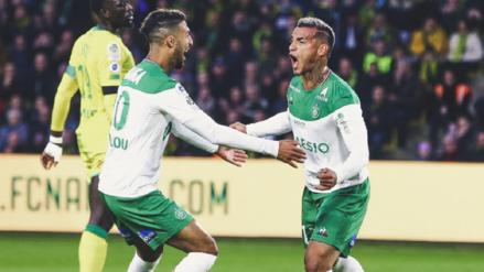 ¡Qué genio! Así fue el gol y la asistencia de Miguel Trauco en el Nantes vs. Saint-Étienne por la Ligue 1