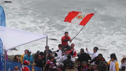¡Por cuarta vez! Piccolo Clemente se proclamó campeón sudamericano de longboard en Brasil