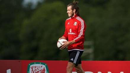¿Y el Real Madrid? Gareth Bale entrena con normalidad con la Selección de Galés