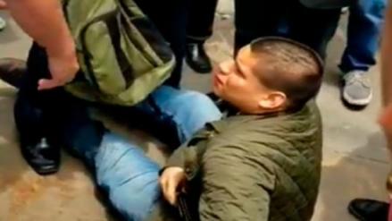 San Marcos: Sujeto que entró a acosar a una estudiante es acusado de intentar acuchillar a compañero que la defendió