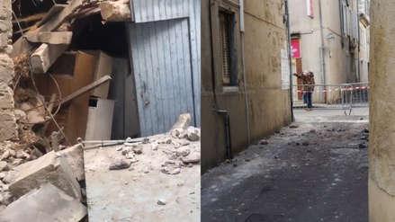 Francia: Cuatro heridos y daños en varias viviendas deja sismo de 5.4 de magnitud [VIDEO]