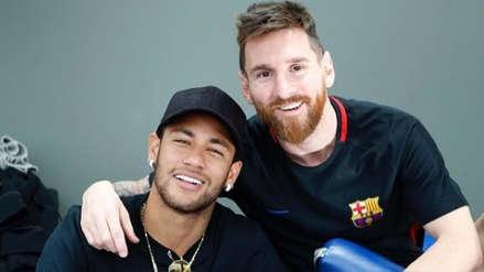 En fiesta con Lionel Messi y Luis Suárez: Neymar reiteró que quiere volver a Barcelona
