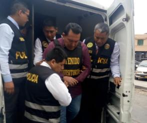 Félix Moreno fue trasladado a la Corte Superior del Callao tras pasar por el médico legista [VIDEO]