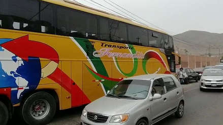 Intervienen bus proveniente de Tumbes con 52 extranjeros