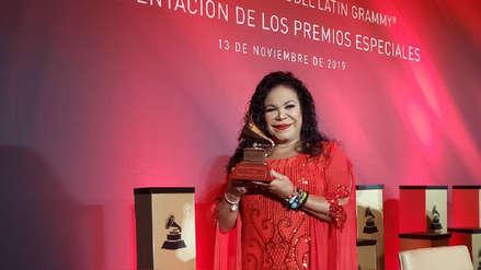 Latin Grammy 2019: Eva Ayllón y el sentido mensaje a su abuela al recibir galardón [VIDEO]